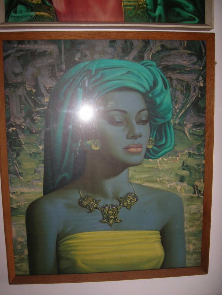 'Balinese Girl' by Vladimir Tretchikoff