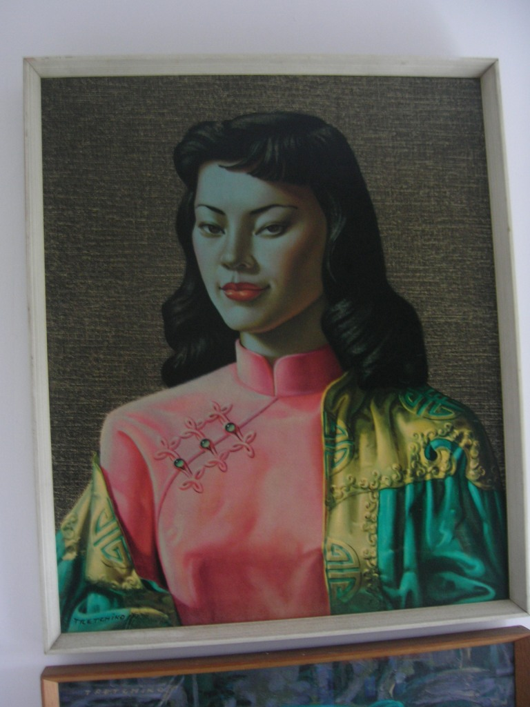 'Miss Wong' by Tretchikoff