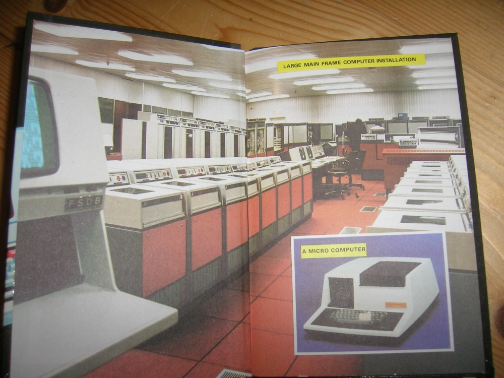 Inside the front cover of 'The Computer'