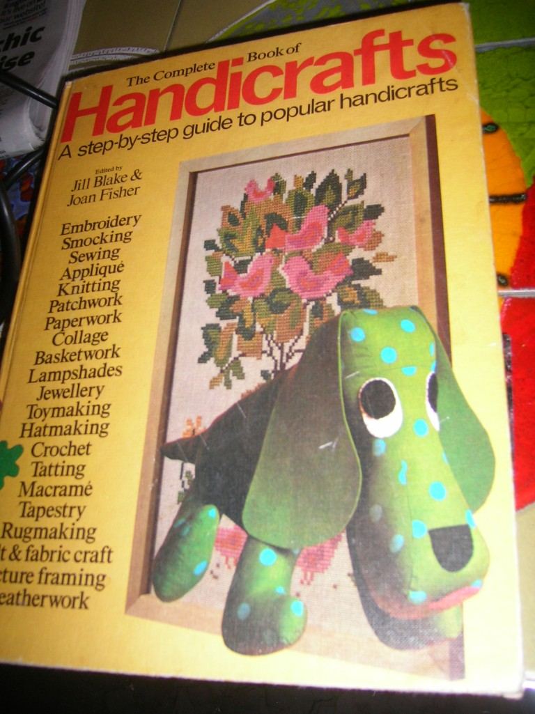St Michael Handicrafts book from the 70s...
