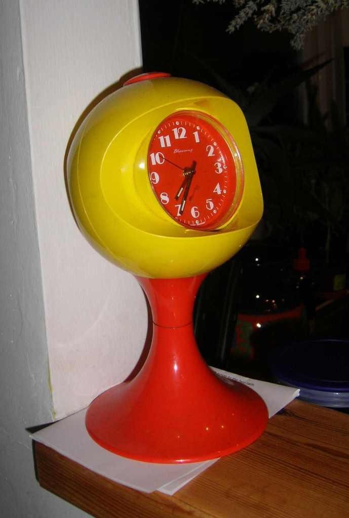 70s German Plastic Clock