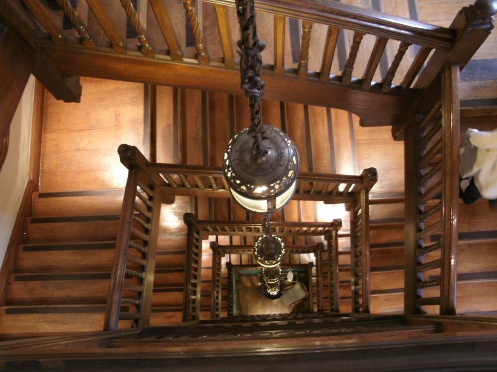Staircase at Liberty's in London