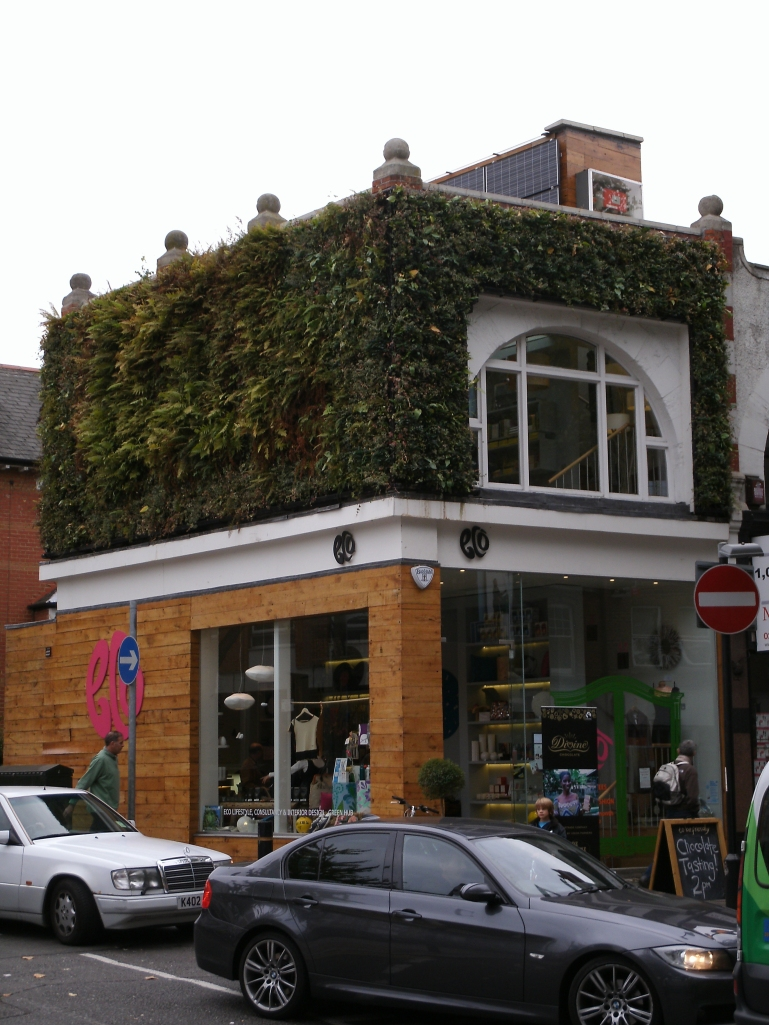 Eco Shop in Turnham Green, near Acton.