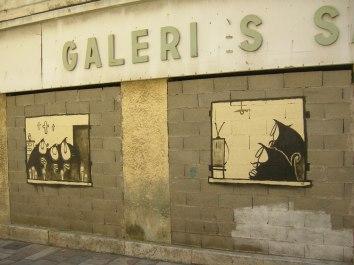 Graffiti in Bastia
