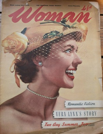 Vintage Woman's Own Magazine Front Cover