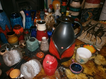 West German Pottery finds