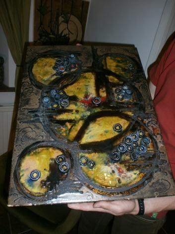 Ruscha Wall Plate