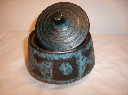 Carstens Ankara West German Pottery Dish