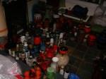 A lot of pots!