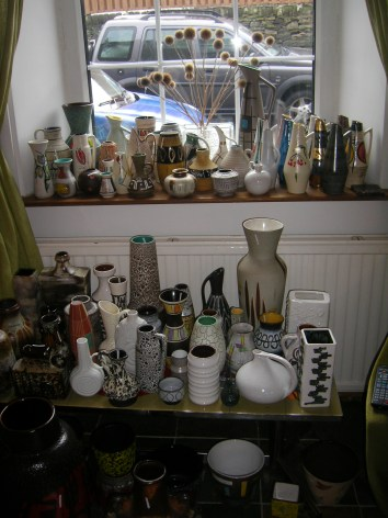 '50s and white pottery