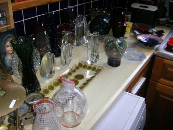 Glass bits and bobs