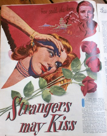 Benjamin Ostrick 'Strangers May Kiss' 1952