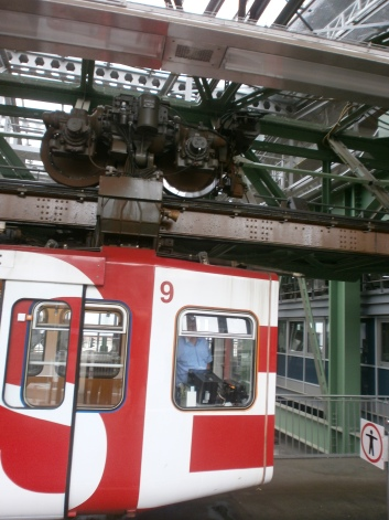 The Schwebebahn carriages