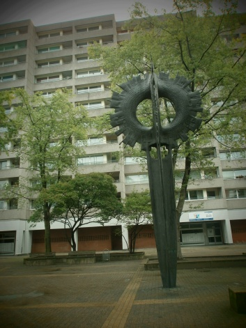 Mid Century Sculpture and Flats