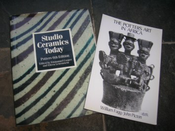 Studio Pottery Books - £1 each