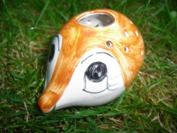 Kitsch Hedgehog Pot Pourri Holder