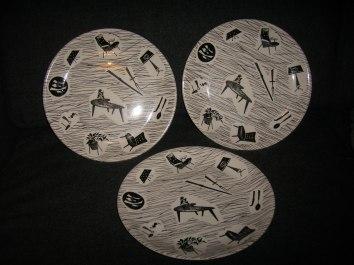 Ridgway Homemaker Plates