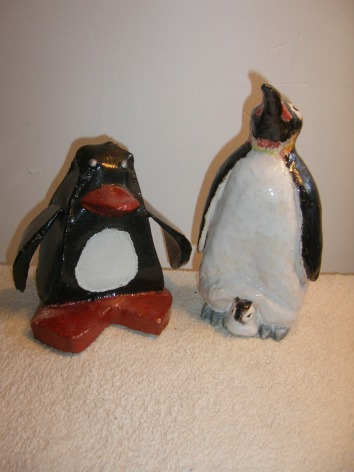 Mick Kirkby-Geddes Penguin and Unknown