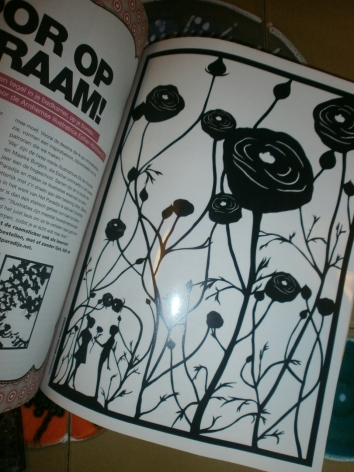 Poppies Wall Sticker @ Flow Magazine