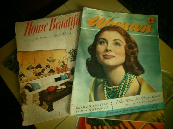 Vintage Magazines from Agnes Darling