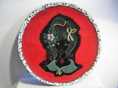 San Marino Italian Vintage Plate