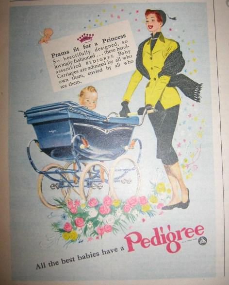Vintage Pram Advert