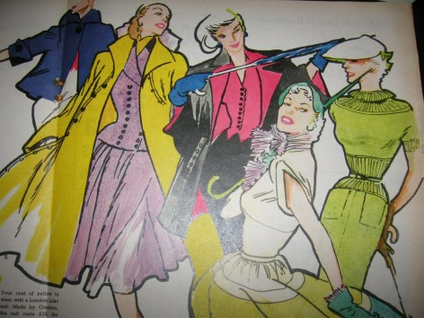 More Vintage Outerwear Fashion