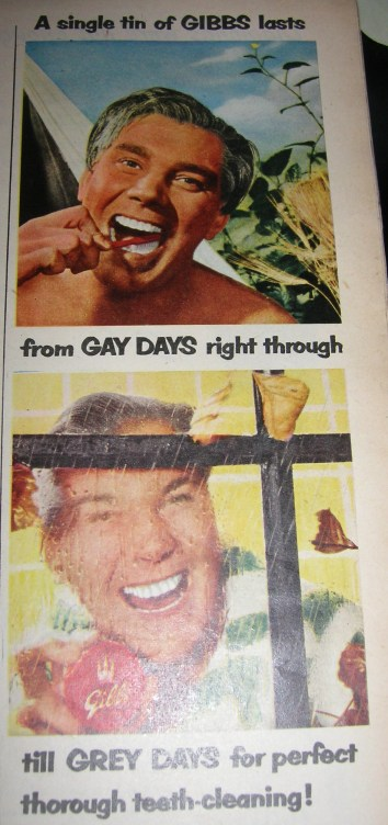 1950s Toothpaste Advert