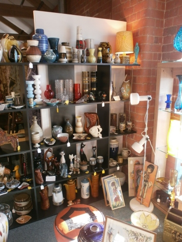 Green Haze Retro at Gloucester Antiques Centre