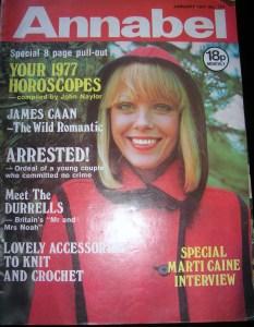 Annabel January 1977