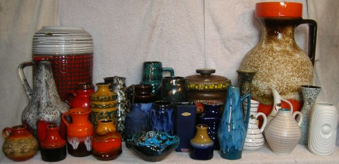 West German Pottery for sale ending 7th Dec