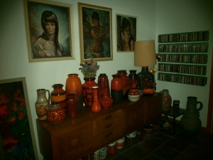 Lots of West German Pottery!