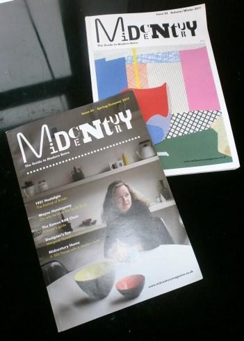 Midcentury Magazine Issues 1 & 2