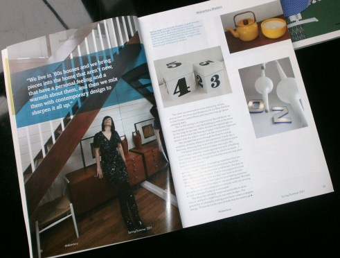 Issue 1 article in Midcentury Magazine