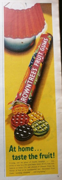 Rowntree's Fruit Gums advert