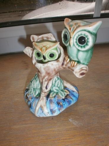 Retro Owl Ornament