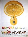 Kia-Ora Fruit Squash 1950s advert