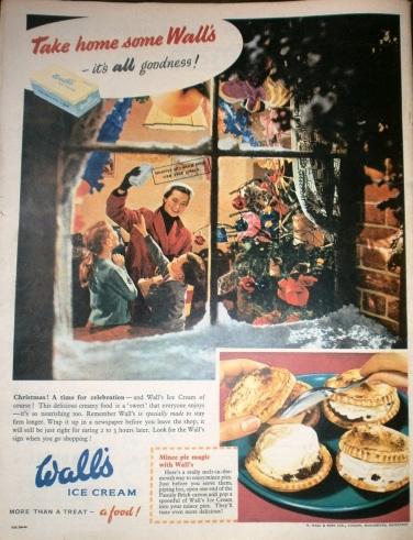 Vintage Wall's Ice Cream advert
