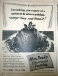 Mrs Peek's Christmas Pudding