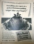 Mrs Peek's Christmas Pudding