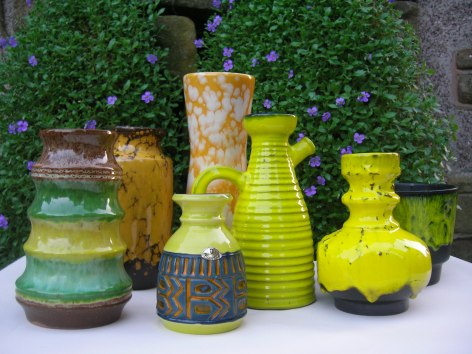 Yellow (ish) Germany Pottery
