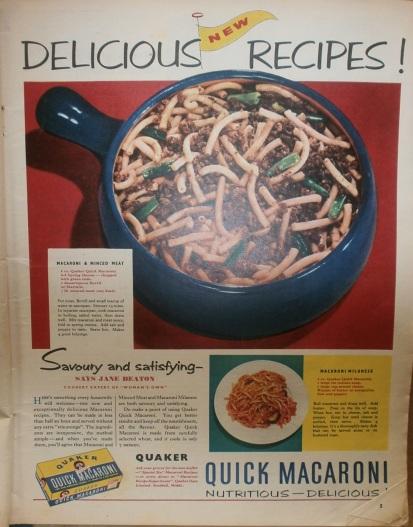 Delicious Retro Recipe...