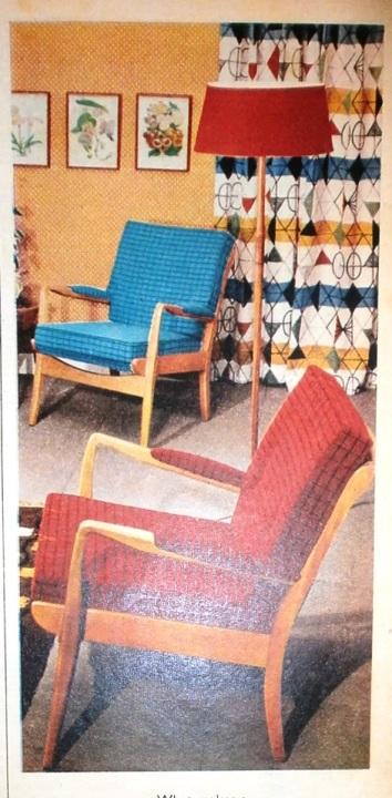 Mid Century Room Style