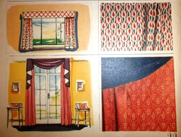 1950s curtains illustration 2