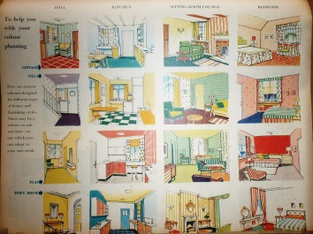 1956 Woman's Own Home Illustrations