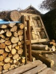 The log pile!