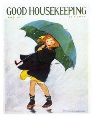 Image result for april showers bring may flowers, 1960 vintage card
