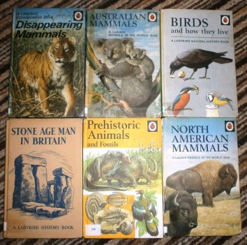 Retro Ladybird books