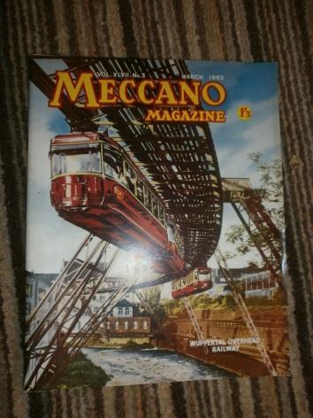 Vintage Meccano magazine