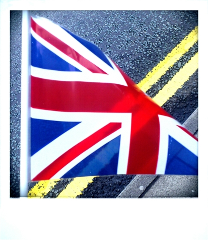Patriotic flag of Britain